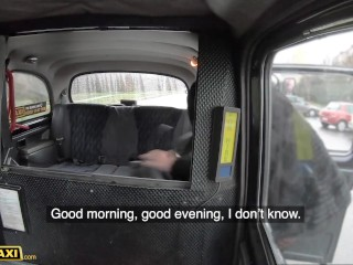 Fake Taxi Ania Kinski Takes Cabbie's Cock for a Ride in Her Pussy