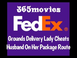 Package Delivery Lady Fucks Random BBC & Cheats On Husband At Work