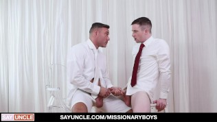 Religious Hunk Confesses His Desires For Hard Cock