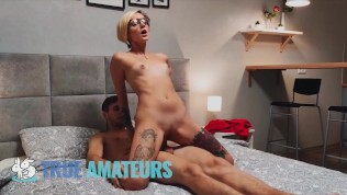 True Amateurs – Smoking Scorching Luventa Having fun with Each Inch Of The Dick In Her Mouth