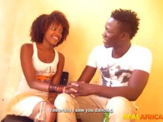 Ebony young slut gets pounded by BBC