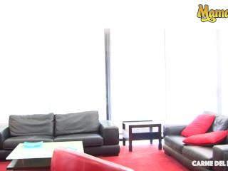 CarneDelMercado - Sara Alvarez Gorgeous Colombian Babe First Hardcore Fuck On Camera - MAMACITAZ