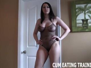 Pov Facial Cum Feeding And Cum Eating Instruction POrn