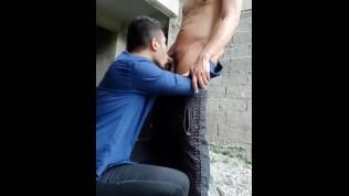 Porn Gay XXX  Outdoor with My Friend