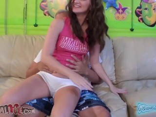Stunning Bubble Butt Beauty Lily Carter Insane Squirting Adventure – Part 1
