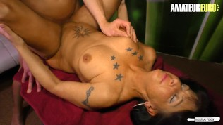 HausfrauFicken – Big Tits German Mature Cheats On Husband With His Friend – AMATEUREURO