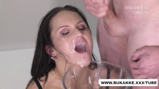 Delicious Barbara Bieber Huge Facial with Multiple Loads of Cum – Bukkakexxx