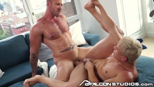 Austin Wolf Pounds Out Lost Teen - FalconStudios