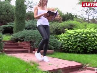 QuestForOrgasm - Alexis Crystal Sexy Czech Babe Intense Solo Masturbation Till Orgasm - LETSDOEIT