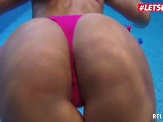 Relaxxxed - Vivien Bell Sexy Hungarian Babe Sucks And Fucks Big Cock By The Pool - LETSDOEIT
