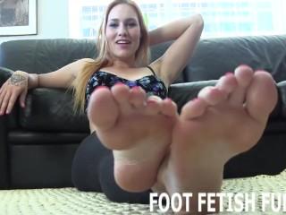 Teen/fetish videos foot pov massage