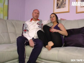SexTapeGermany - Jesse Jay Horny German Couple Make Their First Porn Movie Together - AMATEUREURO