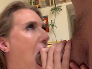 Ass fucked slut gets her butt creampied by Ramon's big dick