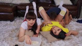 Transangels – Sexy TS Natalie Mars Korra Del Rio Enjoy A Sensual Threesome