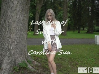 my18teens - Last day of summer with Carolina Sun
