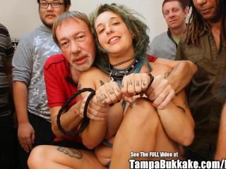 Prego Preggo Bit Tit Tattoo ANAL Whore Gang Fuck