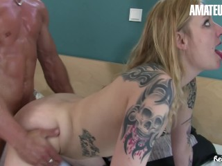 ReifeSwinger – In need of sex German sexy milf Wins Her Holes Crammed In Tough Threeway – AMATEUREURO