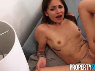 PropertySex Erotic Tattoo Artist Fucks Landlord to get Condo
