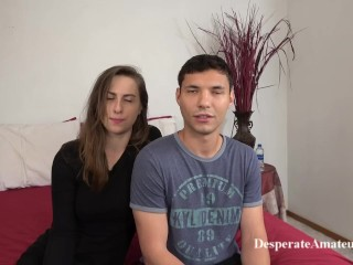 Casting Angel 2 and Nico are a couple who have just started out doing adult movies.