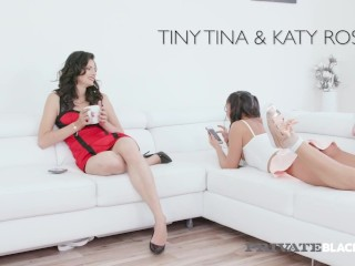 Private Black - Pervy Step Mom Shares Katy Rose With Black Cock!