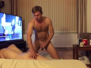 Fully nude married couple amateur sex with pregnancy risk