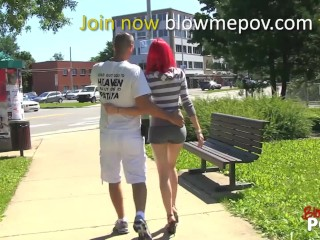 Blow me POV - Horny Teens Blows Dick, like for EVER