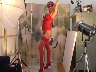 Toys/session creampie photographer persuades temptress