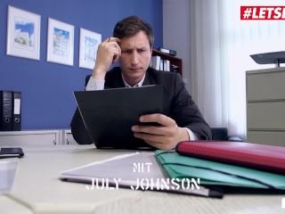 BumsBuero - July Johnson Big Tits German Teen Rough Office Fuck With Her Big Dick Boss - LETSDOEIT