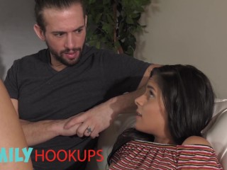 Family Hook Ups – Katya Rodriguez's BF Broke Up With Her But Her Stepbrother Is There To Comfort Her