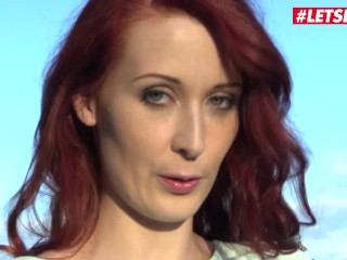 Quest For Orgasm - Czech RedHead Isabella Lui Plays with her new Toys - LETSDOEIT