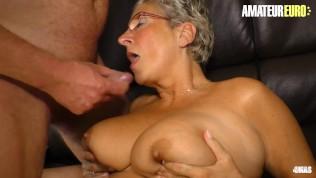 XXXOmas – Slutty German Mature Fun Afternoon Sex With Her Horny Husband – AMATEUREURO
