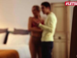 XXX Shades - Italian Busty Babe Stella Cox Gets Dicked Down GOOD at Home - LETSDOEIT