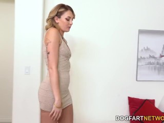Charlotte Sins Has Fun At Home With Her Stepdad And Step Brother Before Her Date