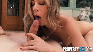 Propertysex Workout Vlogger Gives Attractive Landlady Squirting Hard Climaxes