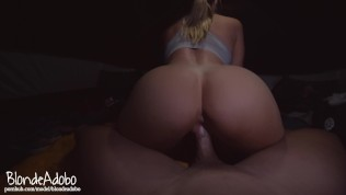 Fucking In Tents Camping Sextape POV Doggystyle with Hot College Girlfriend – BlondeAdobo