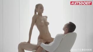 WhiteBoxxx – Nancy A Blonde Ukrainian Girlfriend Passionate Sensual Sex With Her New Boyfriend – LETSDOEIT