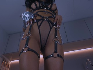 Whorny Films- Stunning Hot Whore Dressed in Fishnet Gets Dominated and Fucked Rough