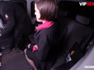 Fuckedintraffic - Anabell Big Boobs Czech Teen Car Hot Sex With Uber Driver
