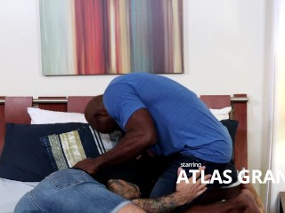 MenOver30 - Atlas Grant Wants Every Inch Of Aaron Trainer's Big Dick