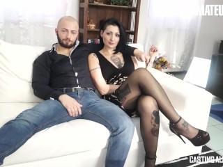 CastingAllaItaliana - Lady Muffin Big Ass Italian Slut Intense Anal Fucking With Horny Agent