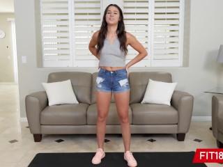 Fit18 - Kylie Rocket - Flexible Amateur Latina Makes Casting Agent Cum Multiple Times - 60FPS