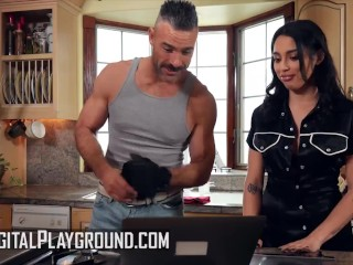 Digital Playground - Big Ass Vanessa Sky Getting Her Pussy Ripped By Charles Dera