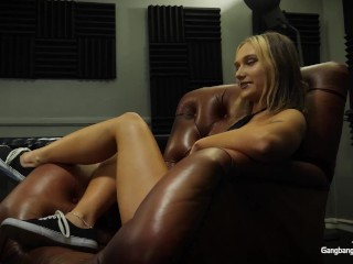 Bratty Punk Babe Enjoying The Fuck Out Of Monster Cock Cream