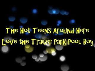 Trailer Park Sluts Really Love the Pool Boy's Big Cock