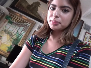Sharing Petite Latina Teen Step Sister - Hazel Heart & Remi Jones - Family Therapy
