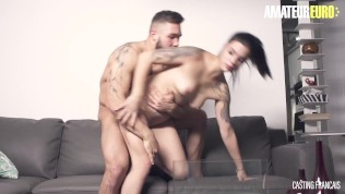 CastingFrancais – Sherly Quinn Tattooed Canadian Teen Hardcore Pussy Fuck First Time On Camera