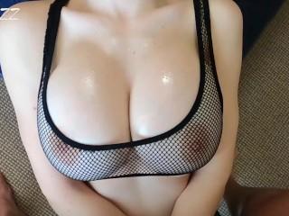 Love to Fuck her between her Tits Elastic 2