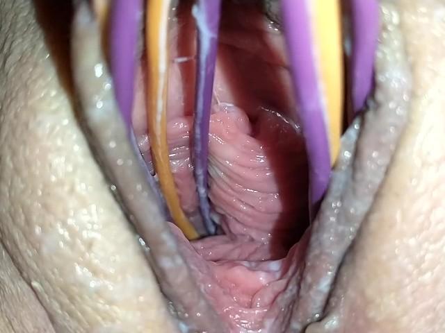 Eating Creamy Pussy Cum