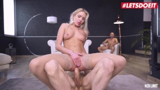 HerLimit – Angelika Grays PAWG Ukrainian Slut Hardcore Anal And Deepthroat Threesome Sex