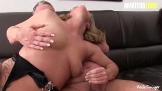 ReifeSwinger – Horny German Matures Hardcore Pussy Fuck With Old Guys In Steamy Fourway – AMATEUREURO